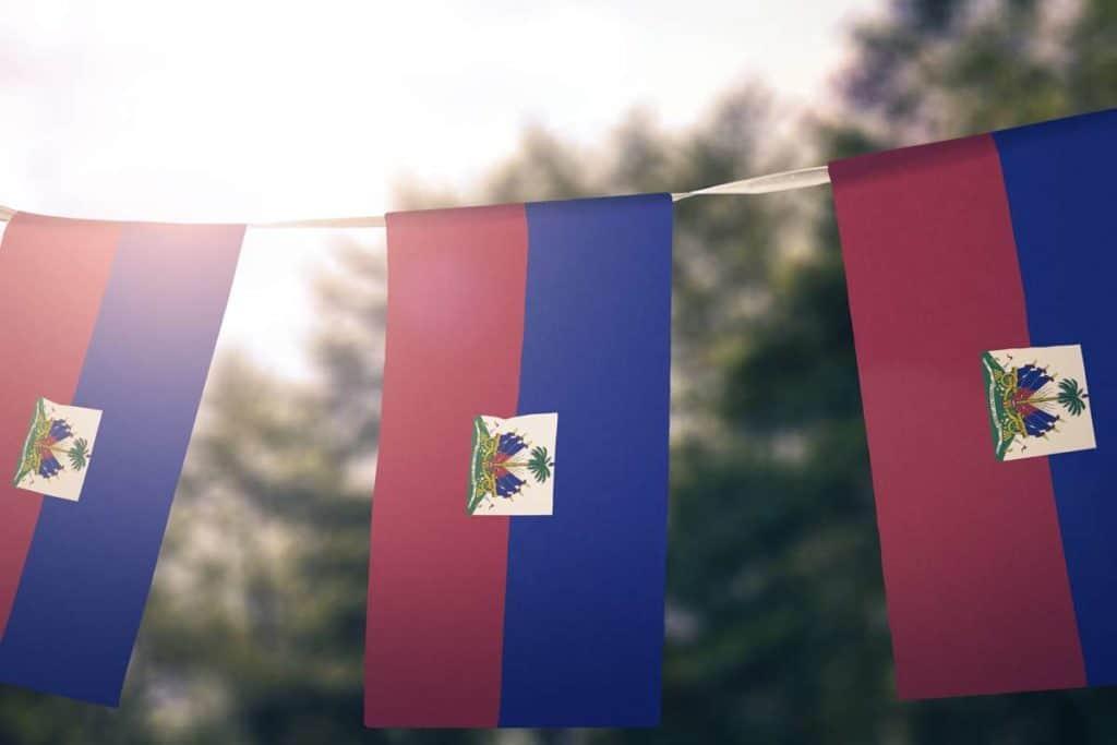 banderas de haiti