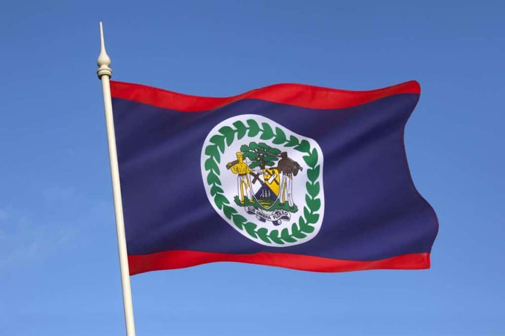 imagen bandera de belice