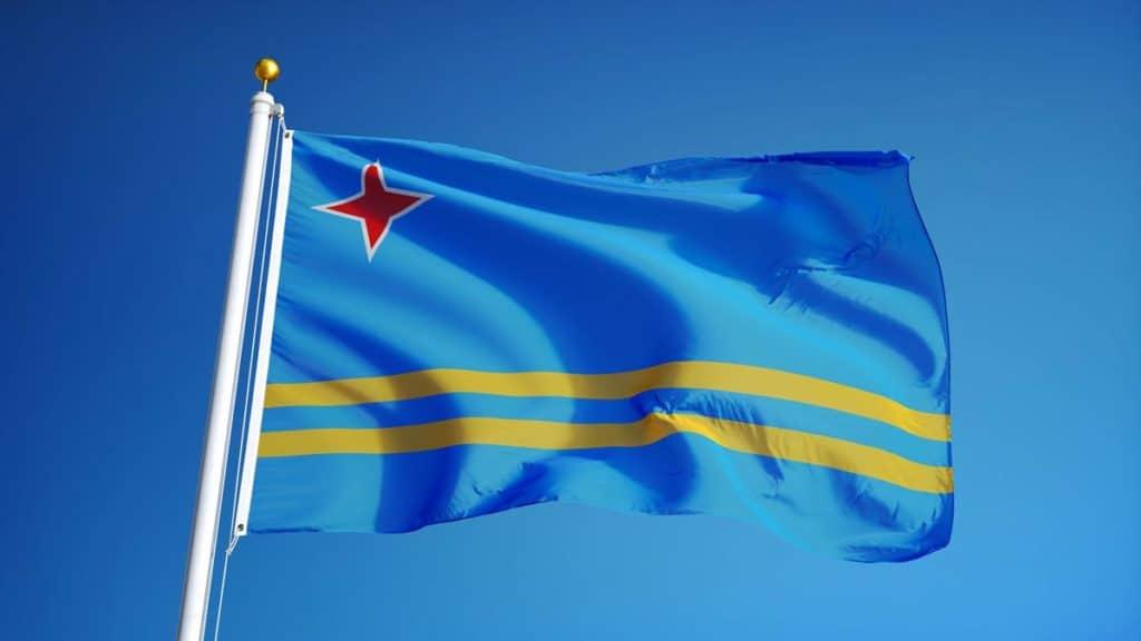 bandera actual de aruba