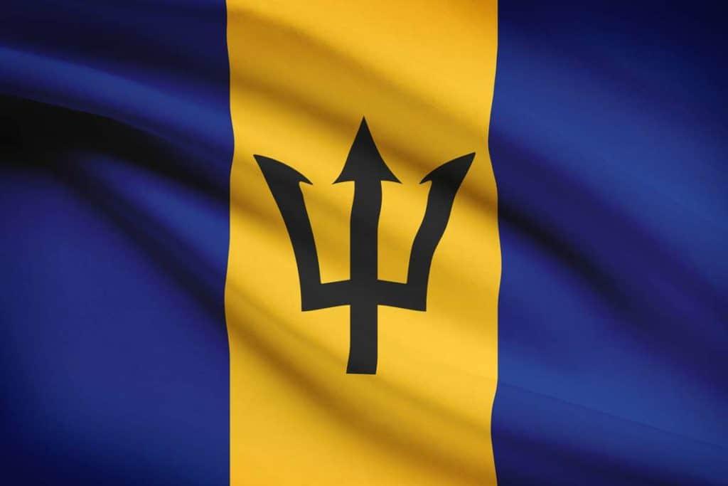 Bandera de Barbados actual
