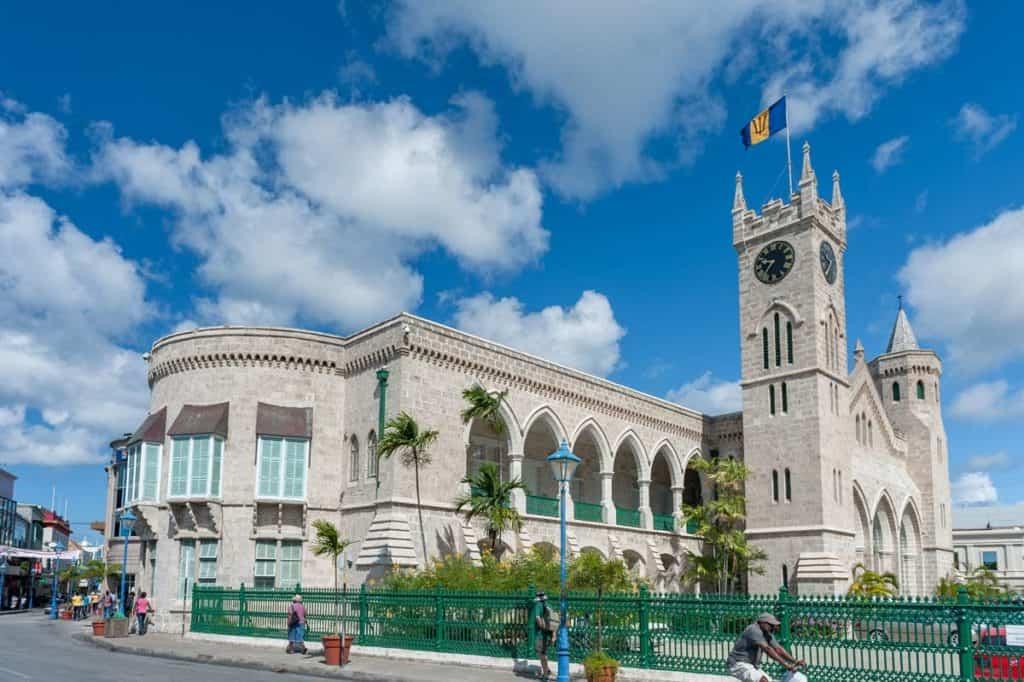 Bandera de Barbados significado