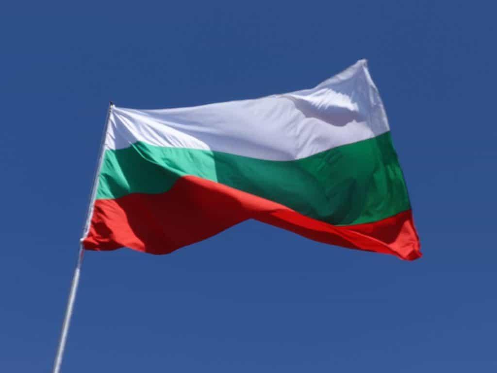 Bandera de Bulgaria actual