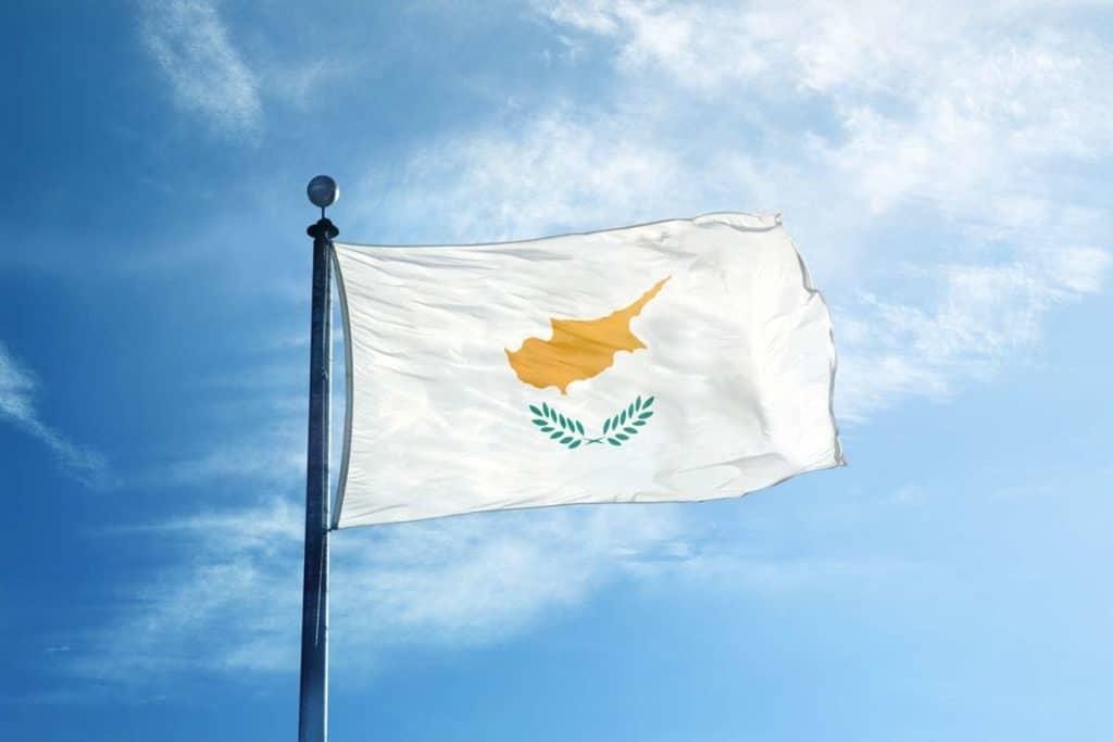 Bandera de Chipre actual
