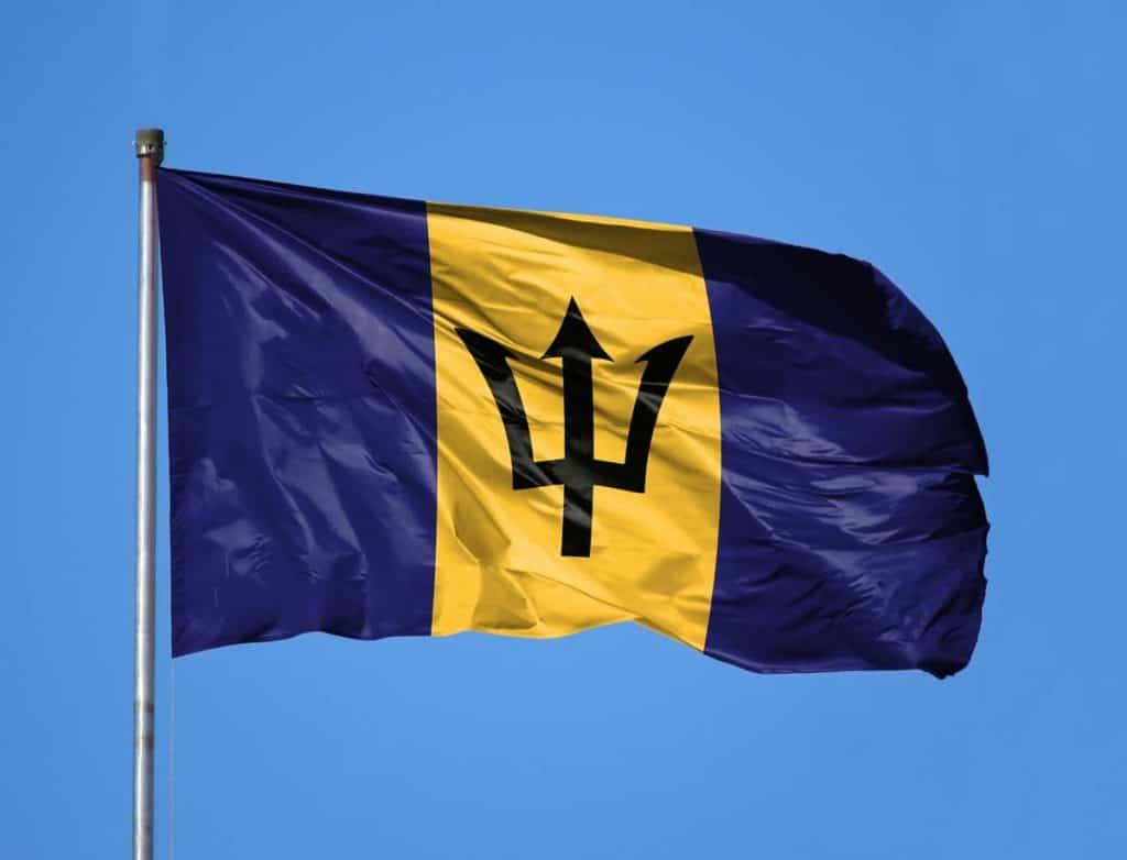 imagen Bandera de Barbados
