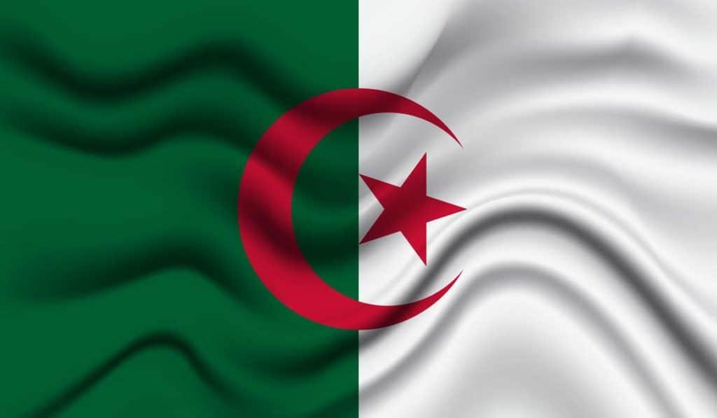significados Bandera de Argelia
