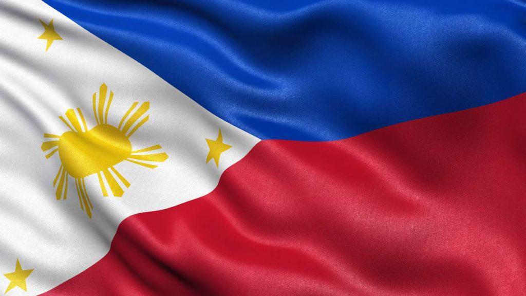 bandera de Filipinas actual