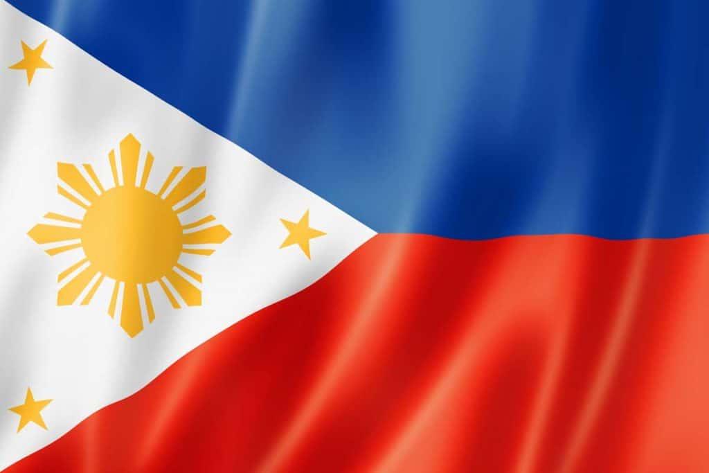 historia bandera de Filipinas