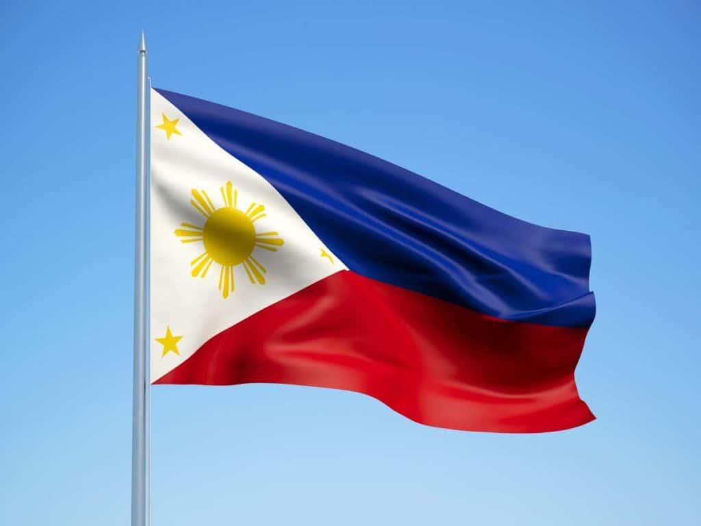 imagen bandera de Filipinas