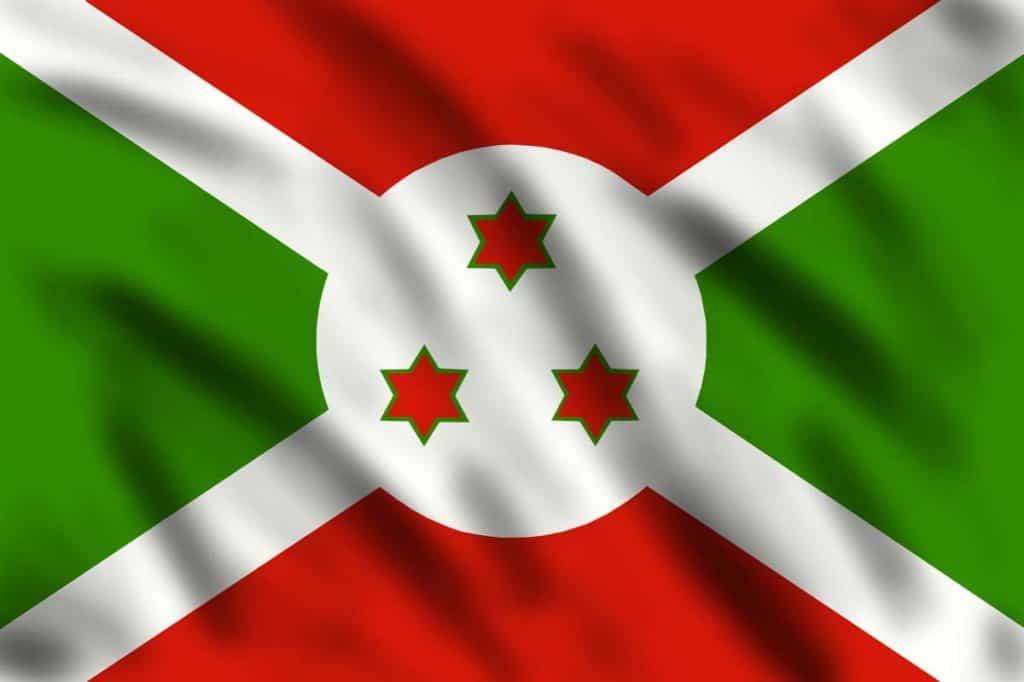 significado de la bandera de Burundi
