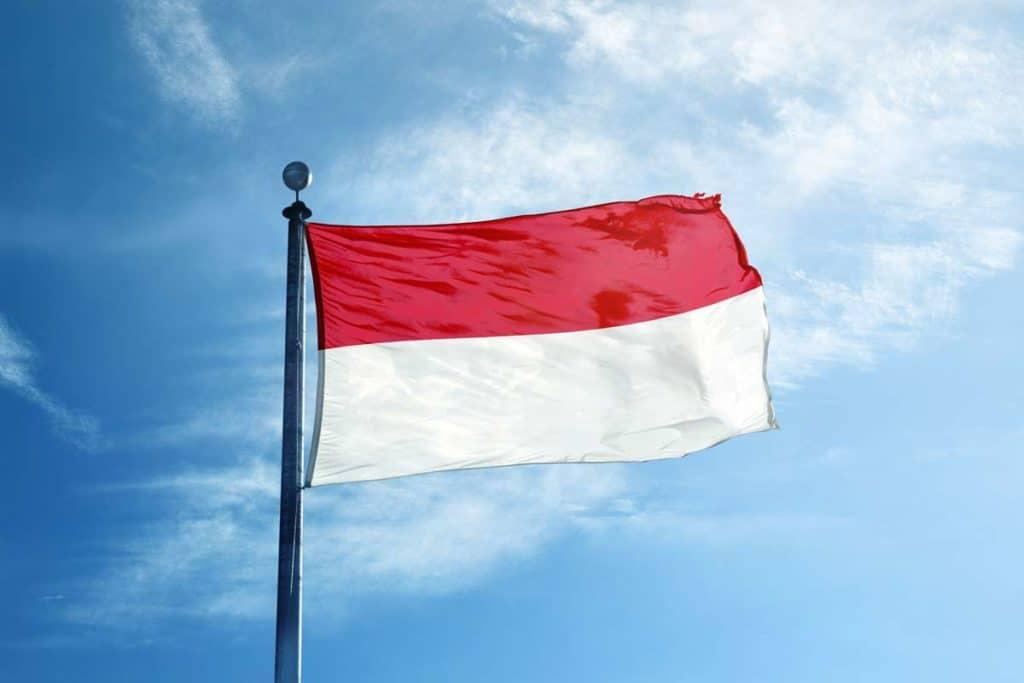 bandera de indonesia actual